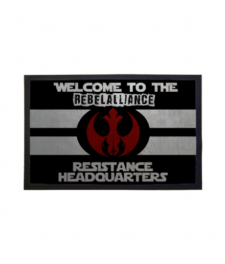Rebel Alliance Resistance Headquarters Doormat from Star Wars